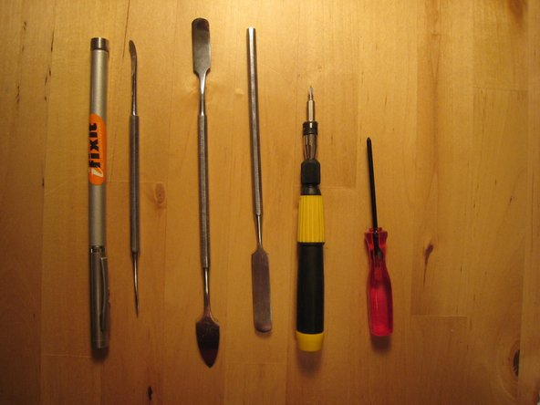 Image 3/3: Gather all tools.