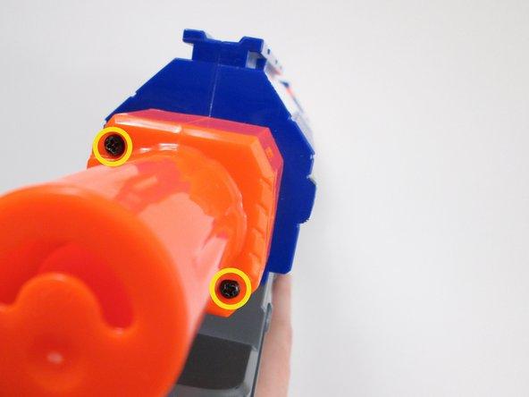 Image 1/3: Pull off the orange cap.