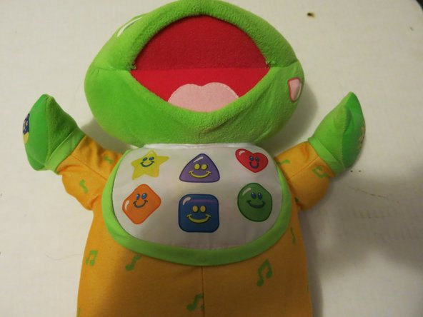 Repairing Non-Functional Buttons on LeapFrog Hug & Learn Baby Tad