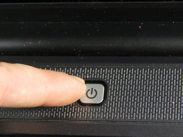 Image 1/1: Turn off computer by pressing and holding the power button.