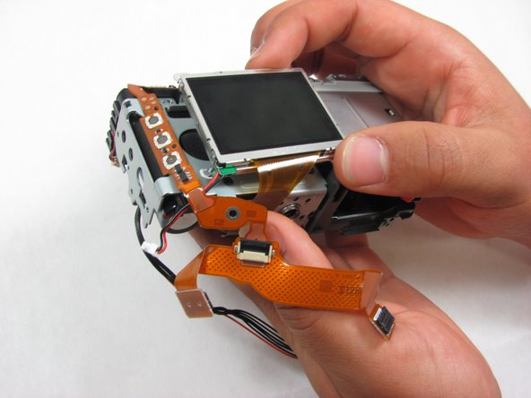 Gently remove the LCD Screen.