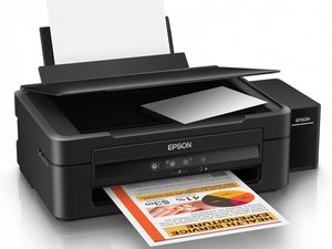 My epson L220 printer : ink and paper red light blinking