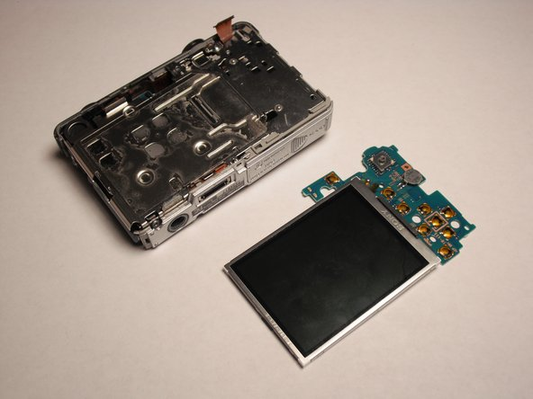 Sony Cyber-shot DSC-W55 LCD Screen Replacement