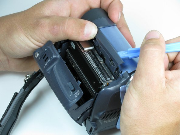 Take care when removing the trim piece. The plastic parts are fragile and can break easily.