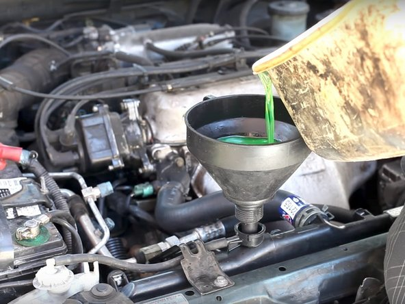 1994-1997 Honda Accord Coolant Replacement