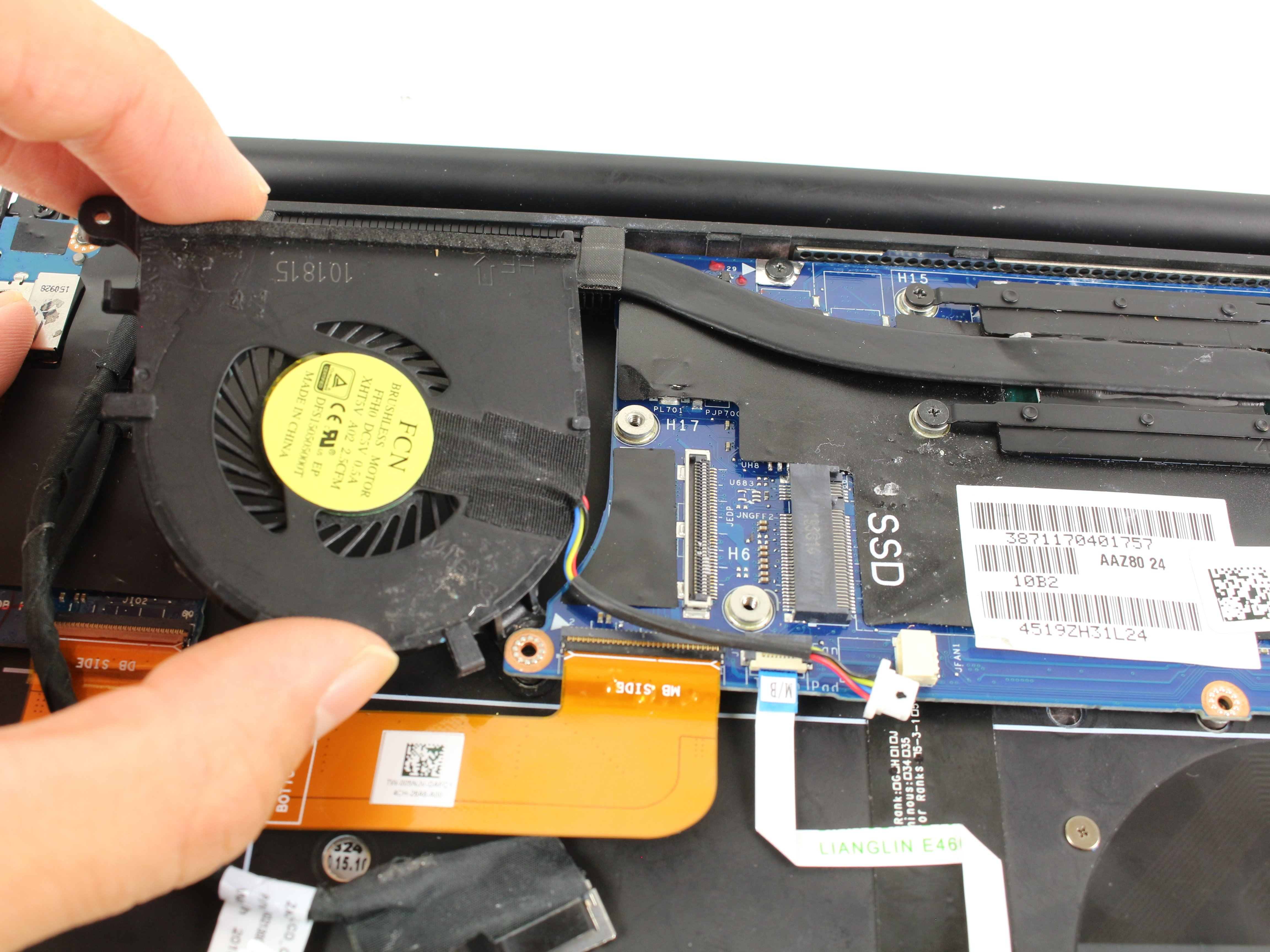 Dell XPS 13 9350 Fan Replacement - iFixit Repair Guide