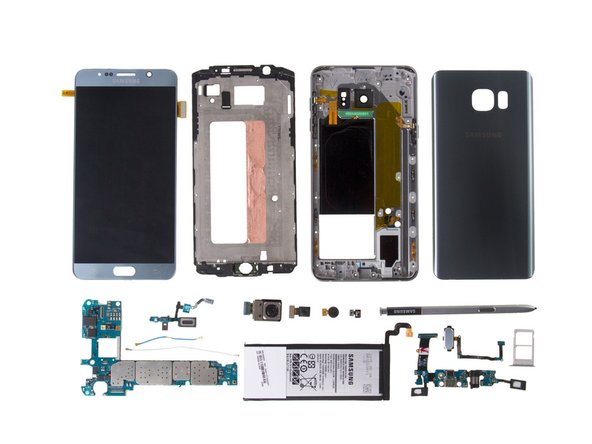 Samsung Galaxy Note5 Teardown