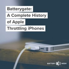 Batterygate: A Complete History of Apple Throttling iPhones