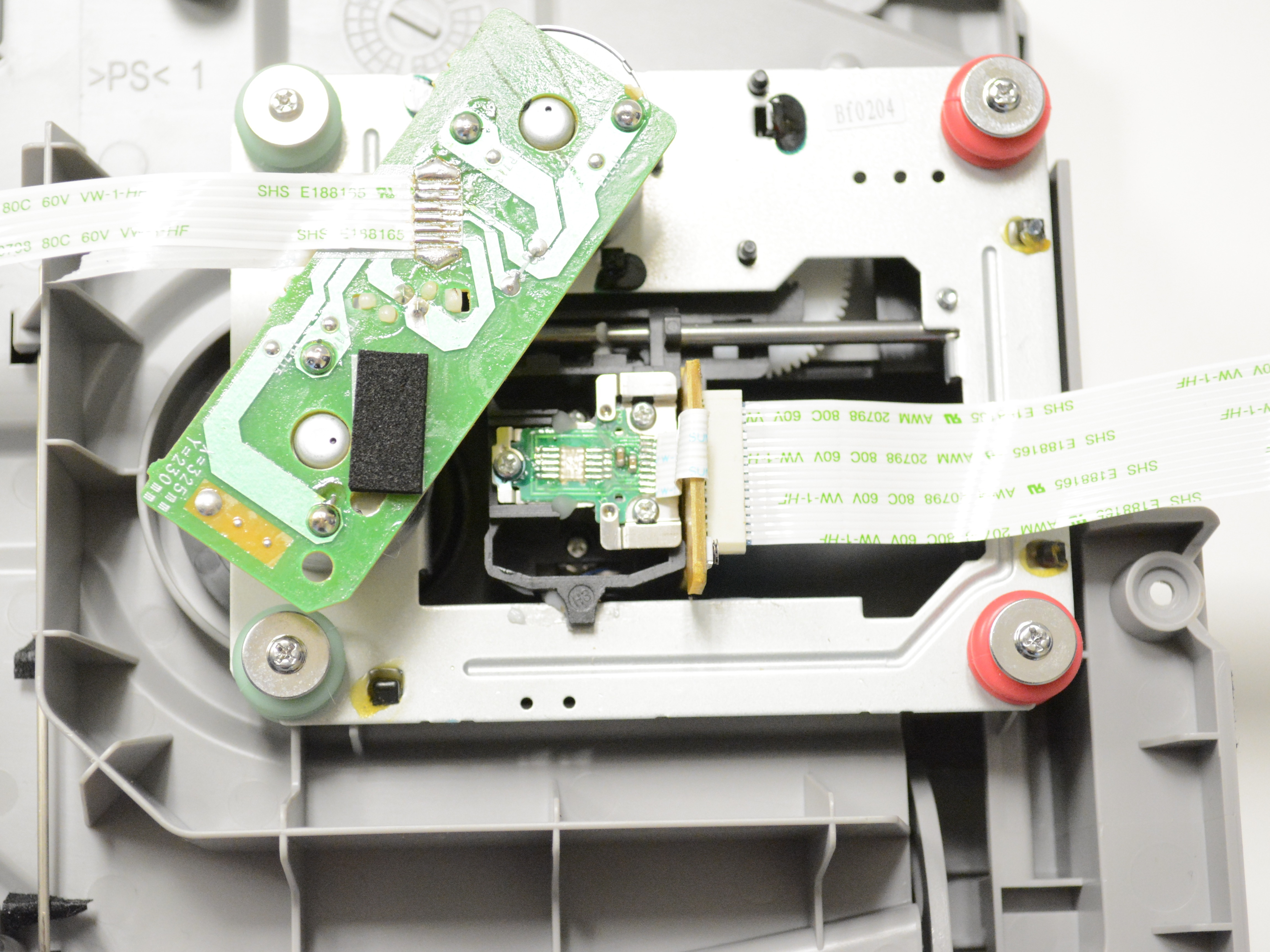 Sony Radio Cfd S05 Repair Ifixit Fm Am Compact Disc Player Wiring Diagram Optical Pickup Unit