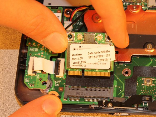 HP Mini 110-1046NR Wireless Card Replacement