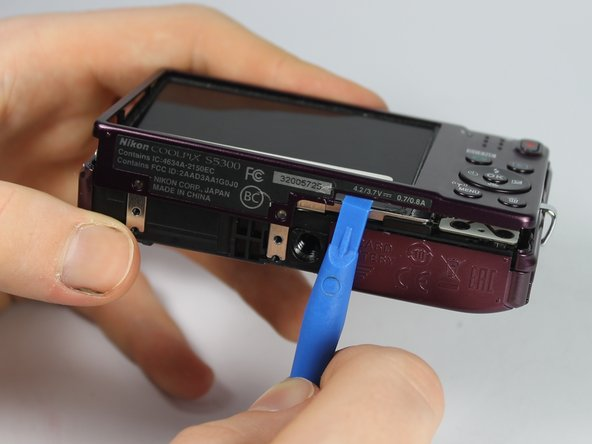 Nikon Coolpix S5300  Outer Casing Replacement