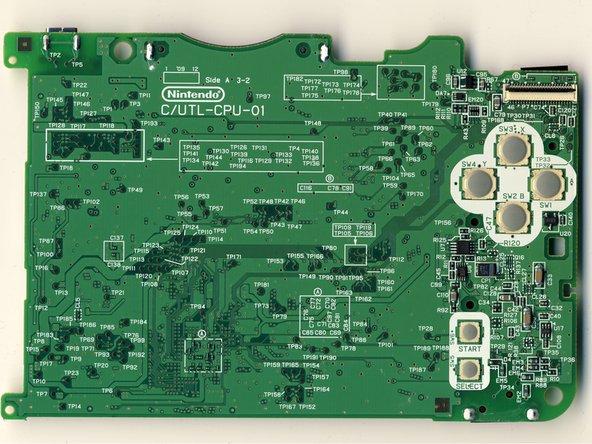 Image 2/2: 82DBS08164D-70L: Fujitsu Ltd 128-bit FCRAM (fast-cycle RAM) chip.