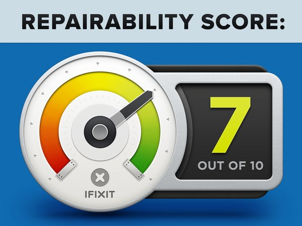 The PlayStation 5 earns a 7 out of 10 on our repairability scale (10 is easiest to repair):