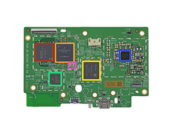 Elpida (now Micron Technology) B2432BCPE-8D-F DDR2 Mobile RAM