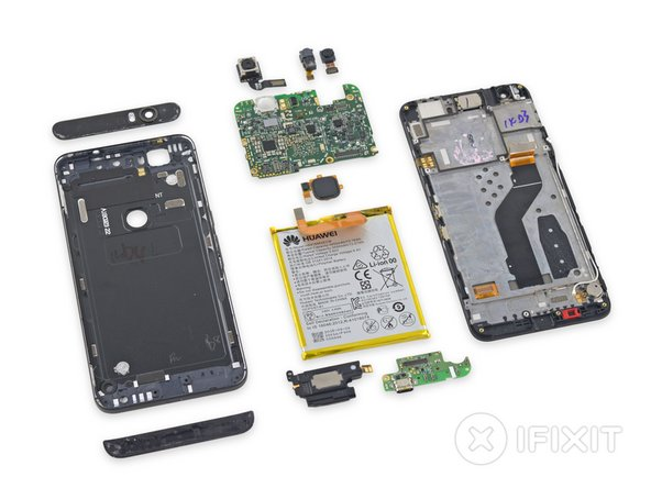 Nexus 6P Repairability Score: 2 out of 10 (10 is easiest to repair)
