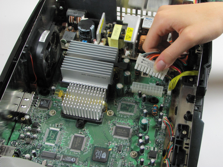 Xbox Repair Ifixit Tool Tip A Circuit Board Skool Motherboard Power
