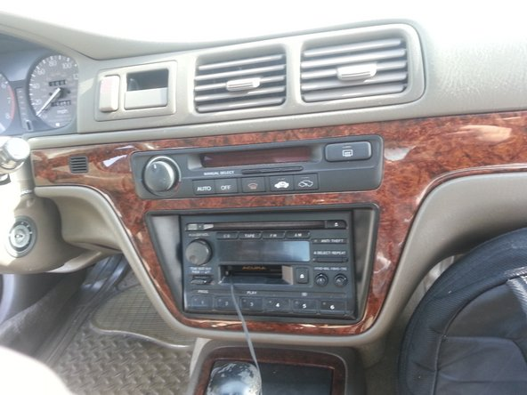 1996-1998 Acura TL Center Dash Replacement