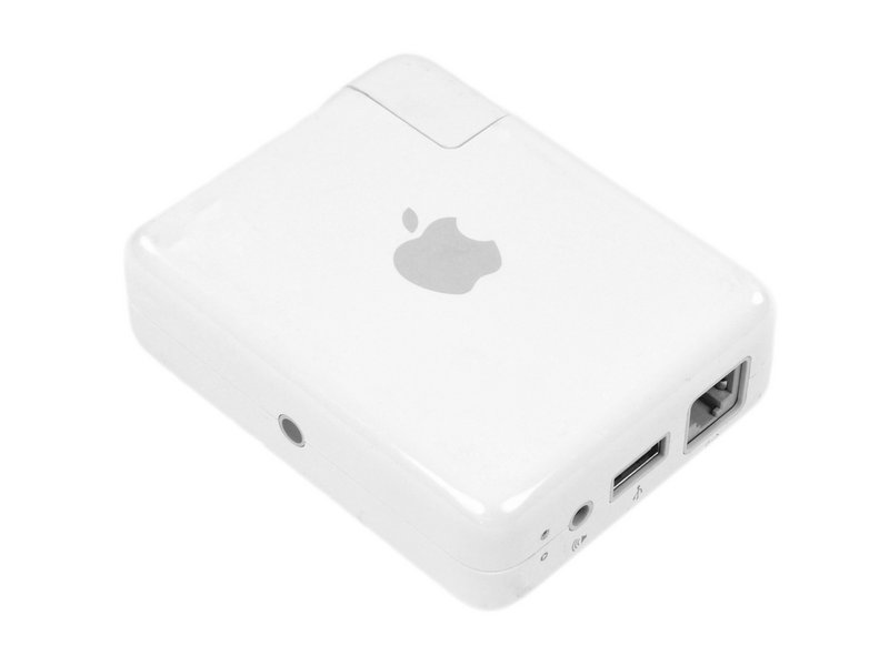 Una vecchia base Airport Express di Apple