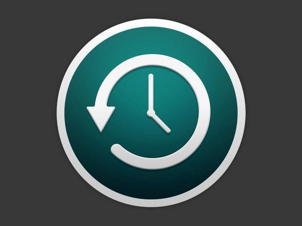 Comment sauvegarder ses données avec Time Machine