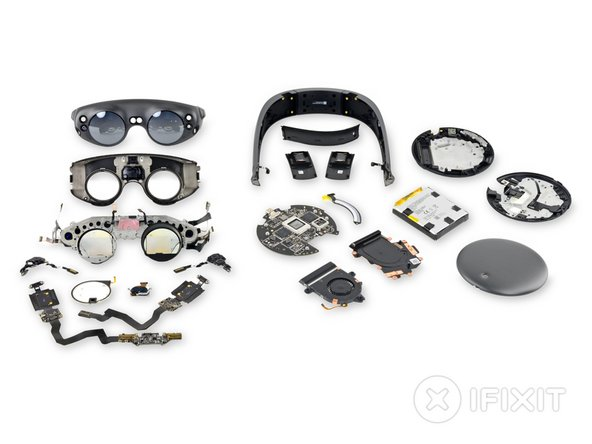 Magic leap headset teardown