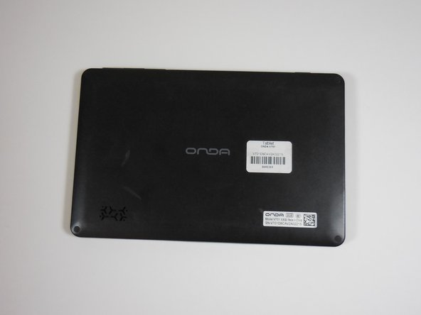Onda V701 Back Panel Replacement