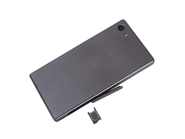 Power off and remove SIM card tray.