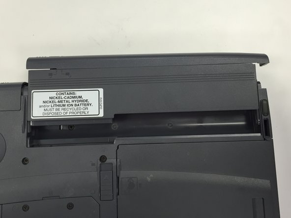 Toshiba Tecra 8200 Battery Replacement