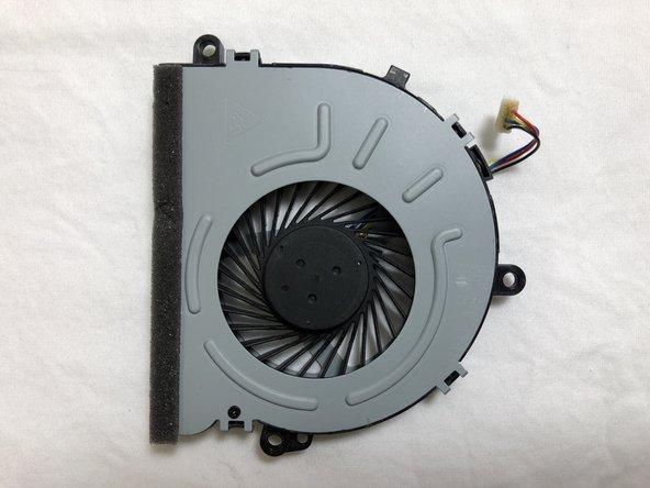 HP 15-da0012dx Fan Replacement