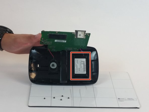Detach from holster and replace Lithium-Ion battery.