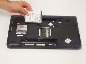 Toshiba Satellite C875-S7304 Hard Drive Replacement
