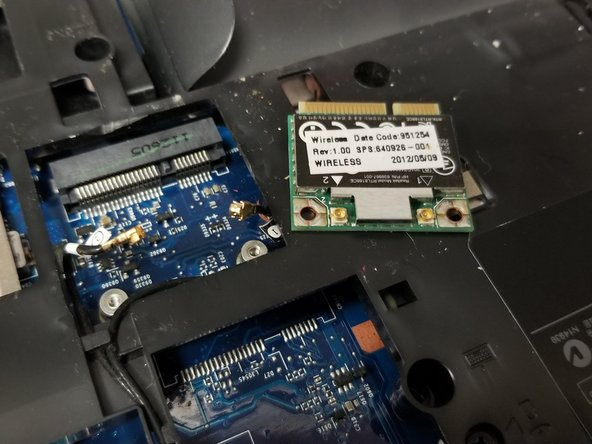 HP ProBook 4530s WiFi Card Replacement