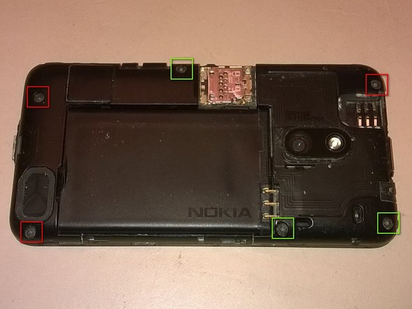 Remove cover, battery and SIM