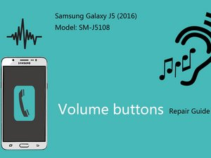 volume buttons (video)