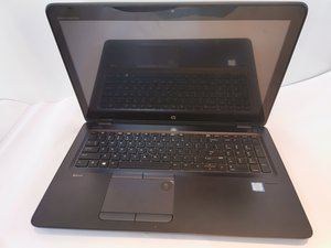 HP zBook 15u G3 Repair