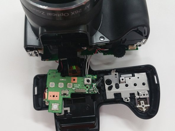 Image 2/3: Use caution when removing the circuit board to avoid tearing the wires connected