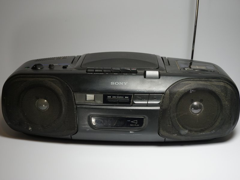 Why won't the cassette player play my tapes? - Sony CFD-8