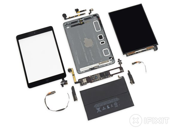 Image 1/2: The LCD and glass are not fused together and can be replaced independently.