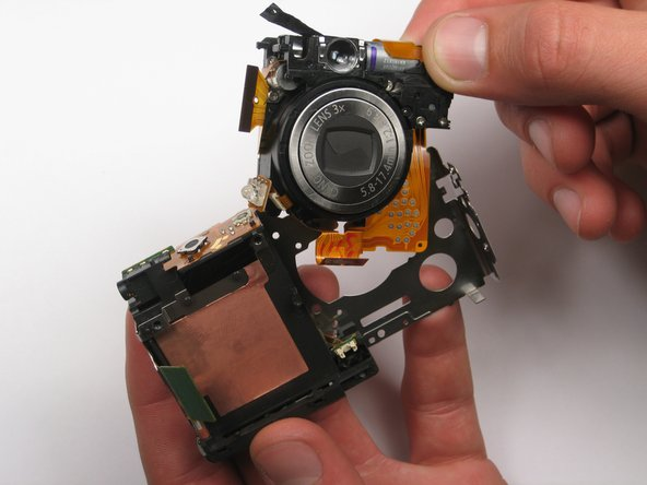 Canon PowerShot SD450 Lens Assembly Replacement