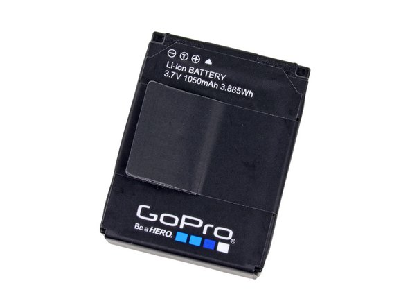 It's almost as if the folks at GoPro wanted you to be able to take the battery out of your HD Hero3. What a novel idea.
