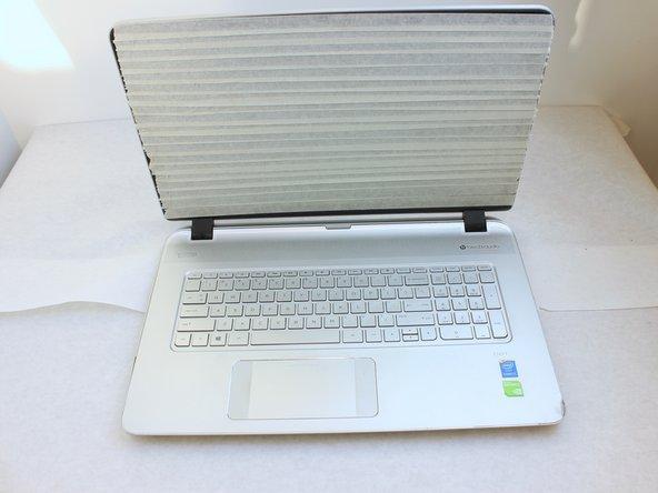 HP 17t-k000 Series Display Panel Replacement