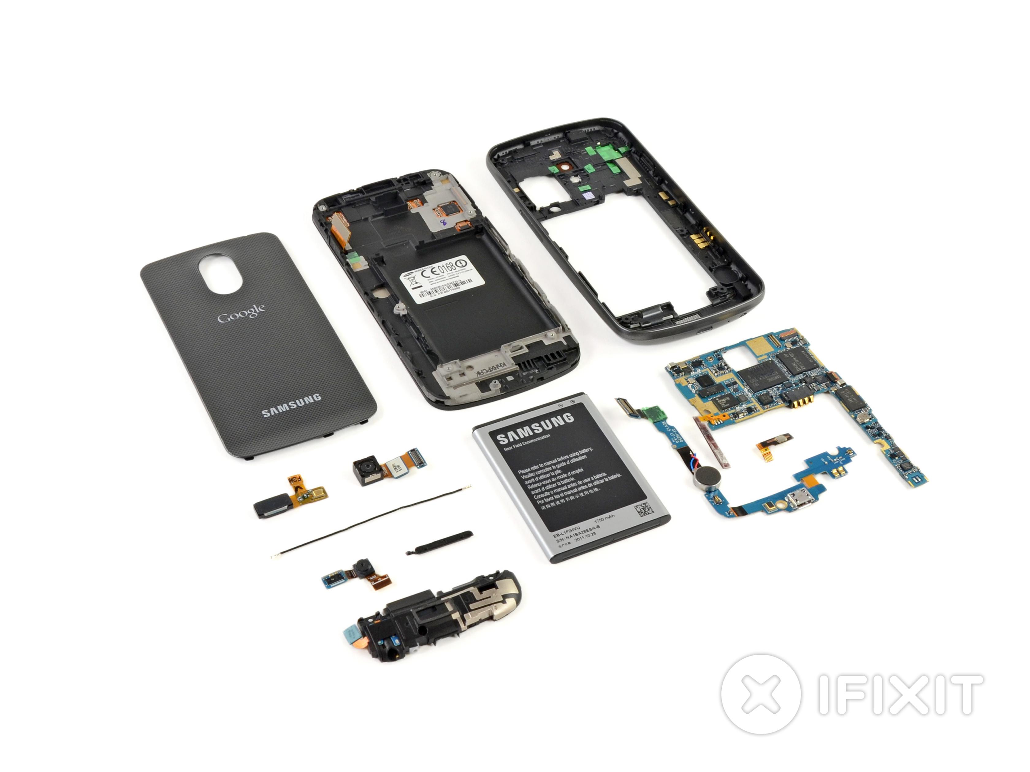 Samsung Galaxy Nexus Teardown Ifixit Wiring Diagram Further Tab 2 Charger On Usb 0