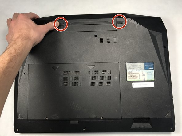 Asus G73JH-RBBX05 Battery Replacement
