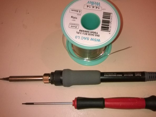 Image 1/1: Soldering iron (thin tip)
