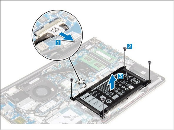 Dell Vostro 15 5568 Battery Replacement