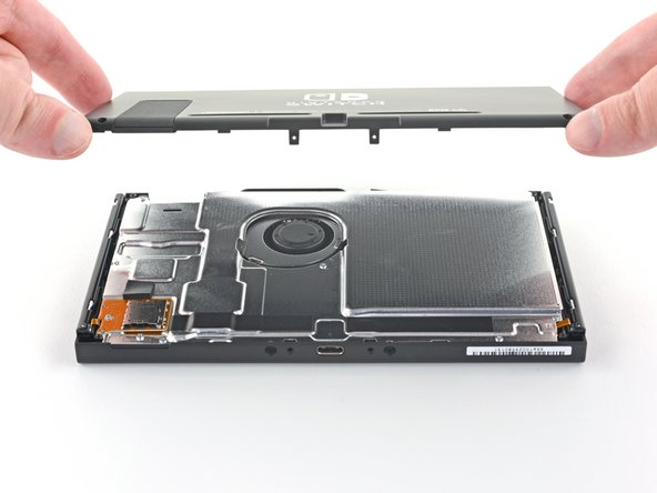 Nintendo Switch Rear Panel Replacement