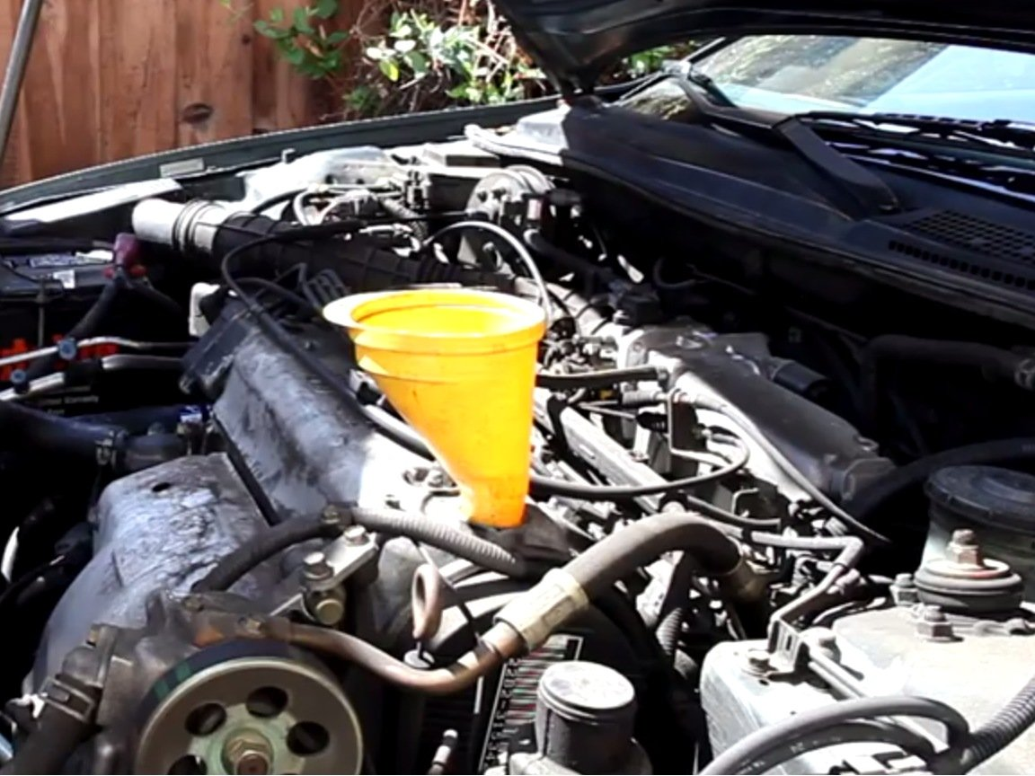 1994 1997 Honda Accord Oil And Oil Filter Replacement
