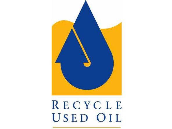 Il faut entre 12 et 24h à la vieille huile pour s'écouler totalement du vieux filtre à huile.