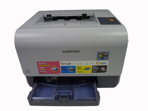 Samsung CLP-300 Black Toner Transfer Unit Replacement