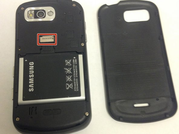 If you have not already removed the memory card, remove it by gently sliding it out of its holder.