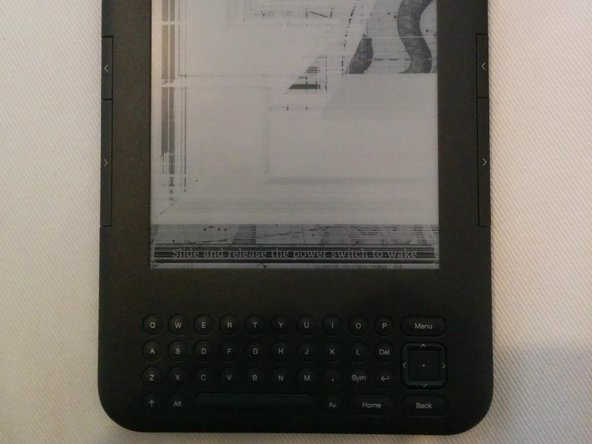 Simplified Kindle 3 Screen Replacement